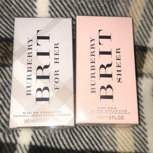 Burberry brit for her .